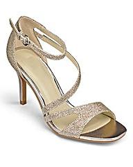 Sole Diva Strappy Sandals E Fit