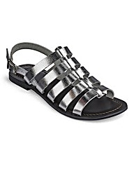 Sole Diva Gladiator Sandals EEE Fit