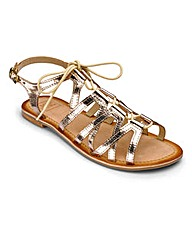 Sole Diva Lace Up Sandals E Fit