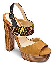 Sole Diva Platform Sandal D Fit