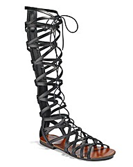 Sole Diva Lace Up Gladiators D Fit