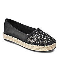Sole Diva Espadrille Shoe D Fit