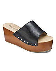 Sole Diva Wedge Mule Standard D Fit