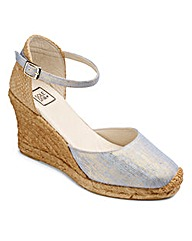 Sole Diva Espadrille Wedge Sandals E Fit