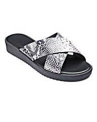 Sole Diva Cross Over Sandals E Fit