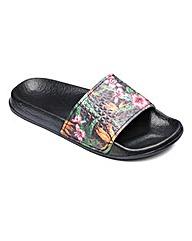 Slydes Jungle Print Sandals