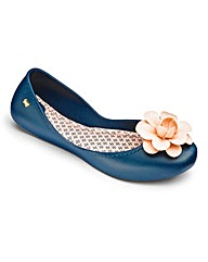 Zaxy Start Flower Ballerinas D Fit