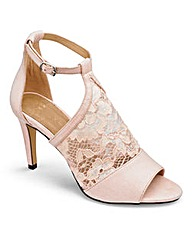Coast Lace Heeled Sandals E Fit