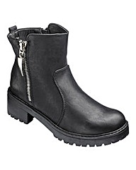 London Rebel Ankle Boots D Fit