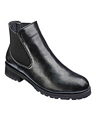 London Rebel Chelsea Boots D Fit