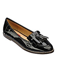 London Rebel Tassel Loafer D Fit