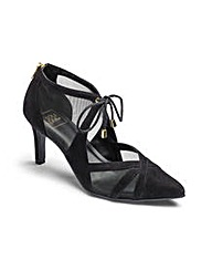 Sole Diva Mesh Court Shoes EEE Fit