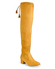 Sole Diva Over The Knee Boots EEE Fit