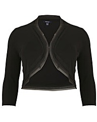 Samya Cropped Bolero Jacket