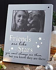 Friends are like Stars Photo Frame