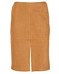 Samya Suede Pencil Skirt