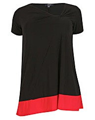 Samya Colour Block Top