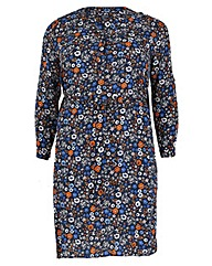 Samya Daisy Print Tie Dress