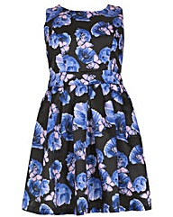 Samya Flower Printed Dress