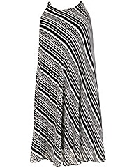emily Stripe Swing Dress