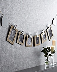 Family Bunting Photo Frames