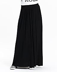Petite Jersey Maxi Skirt