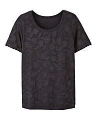 Jacquard Shell Top
