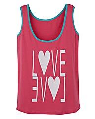 Love Logo Jersey Vest