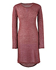 Cranberry Longline Jumper