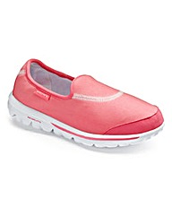 Skechers Go Walk Trainers EEE Fit