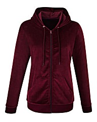 Body Star Velour Hoody