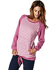 Stripe Loose Fit Sweater