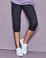 Loose Fit Capri Pants