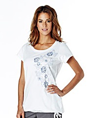 Body Star Pack Of 2 Loose Fit T-shirts