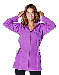 Body Star Longline Hooded Fleece