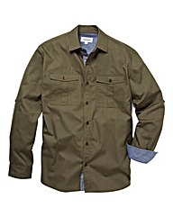 Jacamo LS Military Shirt Long