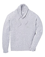 Jacamo Bridgeport Shawl Neck Jumper