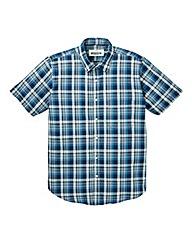 Jacamo Camden S/S Check Shirt Reg