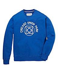 Jacamo Derby Crew Neck Sweatshirt Reg