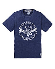 Jacamo Boston Graphic T-shirt Long