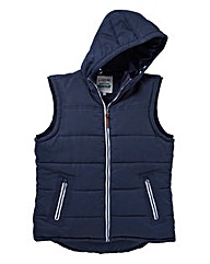 Jacamo Barrett Hooded Gilet