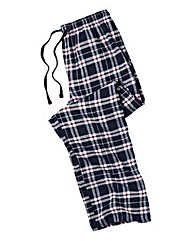 Southbay Navy Check Pyjama Bottoms