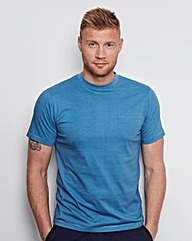 Flintoff By Jacamo Fleck Pocket Tee Long