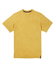 Flintoff By Jacamo Fleck Pocket Tee Reg