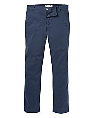 Flintoff by Jacamo Navy Chino 33in