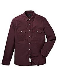 Flintoff by Jacamo L/S Flannel Shirt Reg