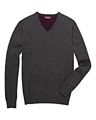Italian Classics Tall V Neck Jumper
