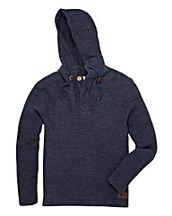 Weird Fish Mighty Jarse Hooded Top