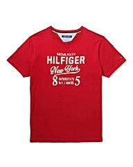 Tommy Hilfiger Mighty Logo T Shirt