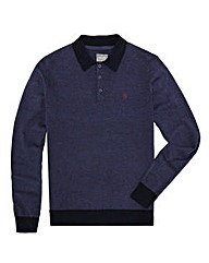 Peter Werth Mighty Knitted Polo Shirt